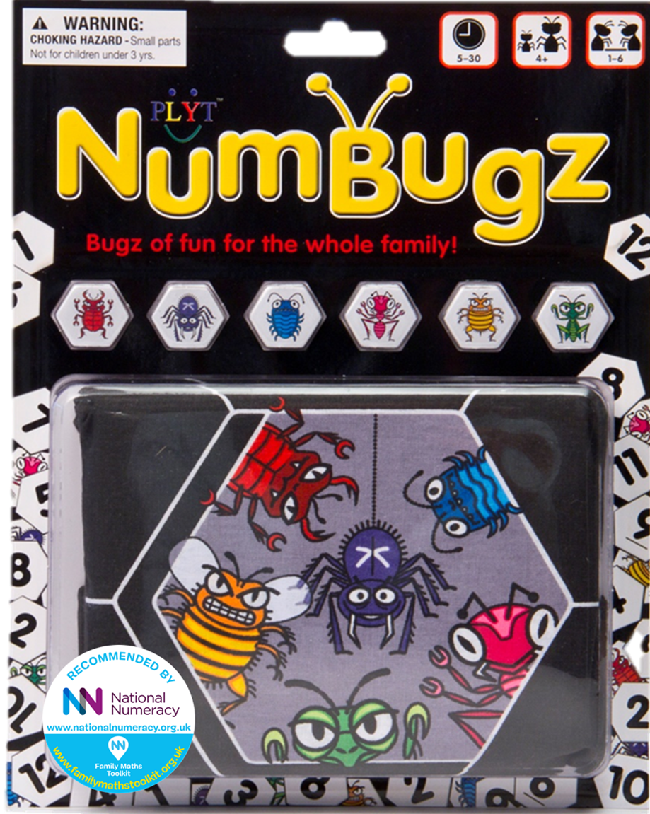 PLYT NumBugz recommended National Numeracy