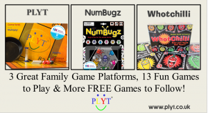 Don't miss out – games games games!