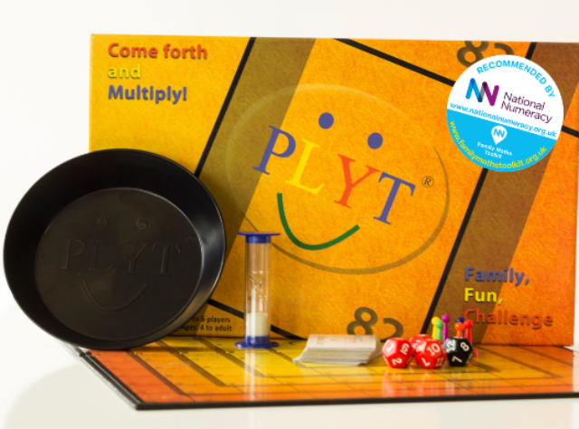 PLYT maths board game proven & recommended