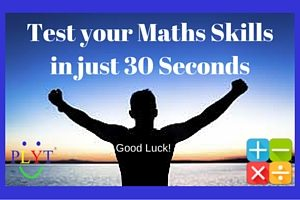 Read more about the article Test Your Maths in 30 Seconds