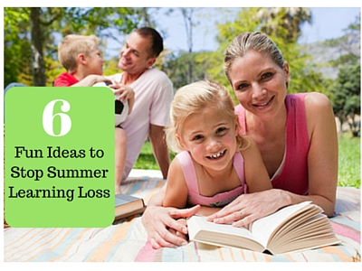 Six Fun Ideas to Stop Summer Learning Loss