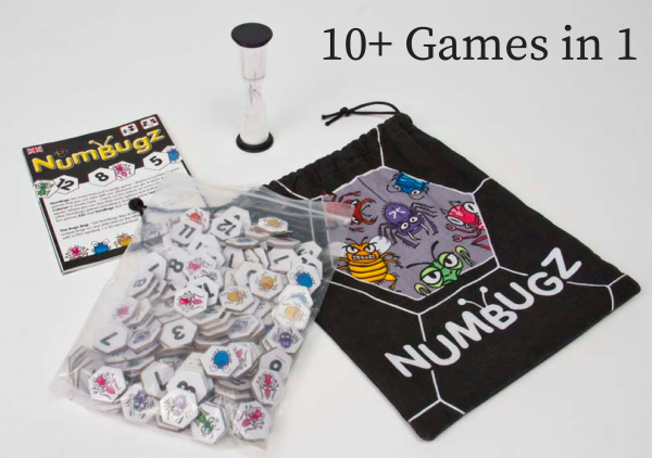 PLYT NumBugz travel game 10+ games