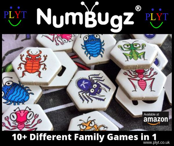 PLYT NumBugz - 10+games in 1
