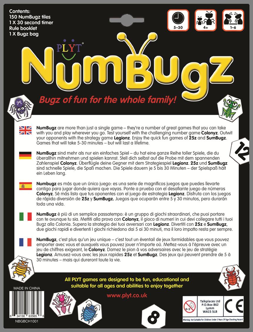 NumBugz English Deutsch Espanol Italiano Francais