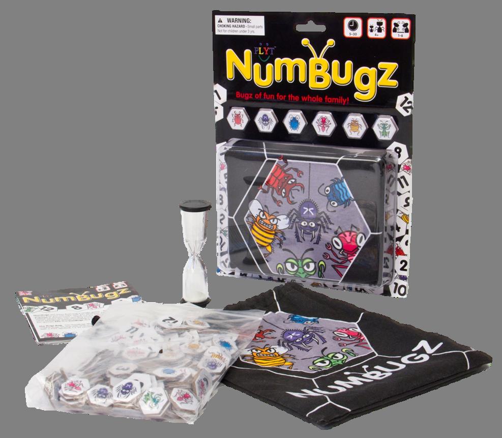 PLYT NumBugz Game Platform