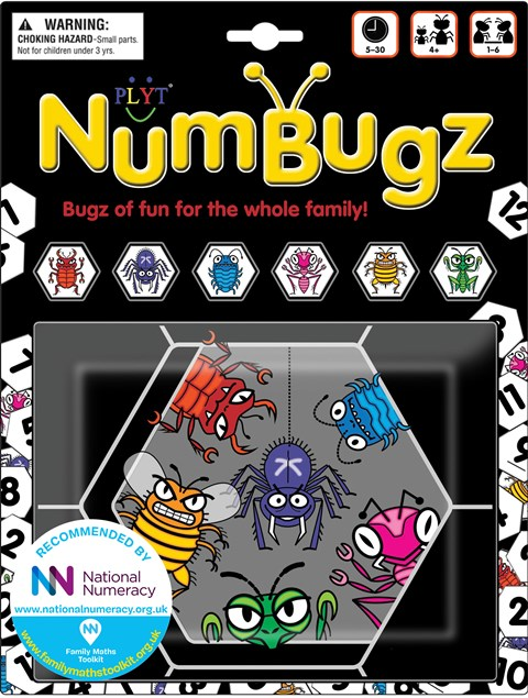 PLYT NumBugz 10+ games to play