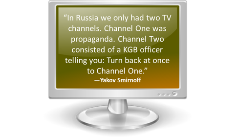 Would you Buy a TV with Only One Choice of Channel?