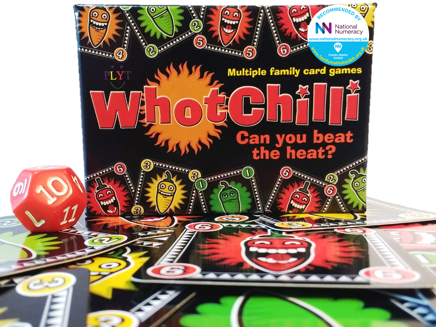 PLYT Whotchilli family card games endorsed